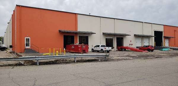 Dominion Equipment Parts Warehouse in Cincinnati