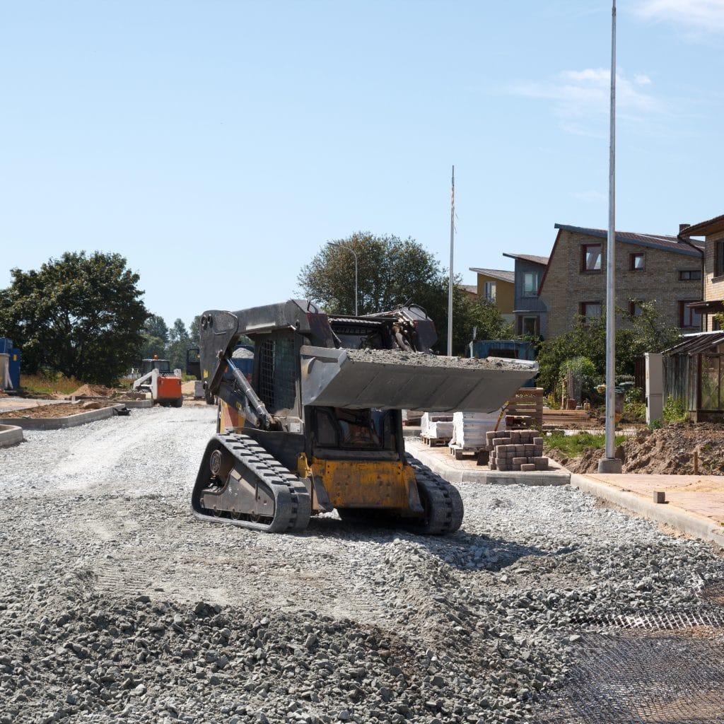 mini excavator rubber tracks